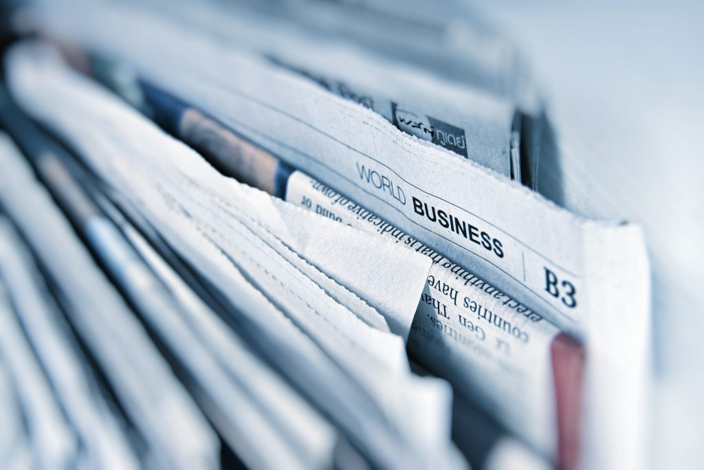 Pending Articles image is a vertical stack of newspapers with one issue sticking out.